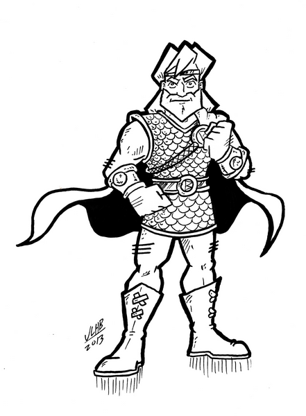 Beowulf vs grendel for Beowulf coloring pages
