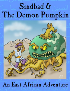 Sindbad & The Demon Pumpkin Cover
