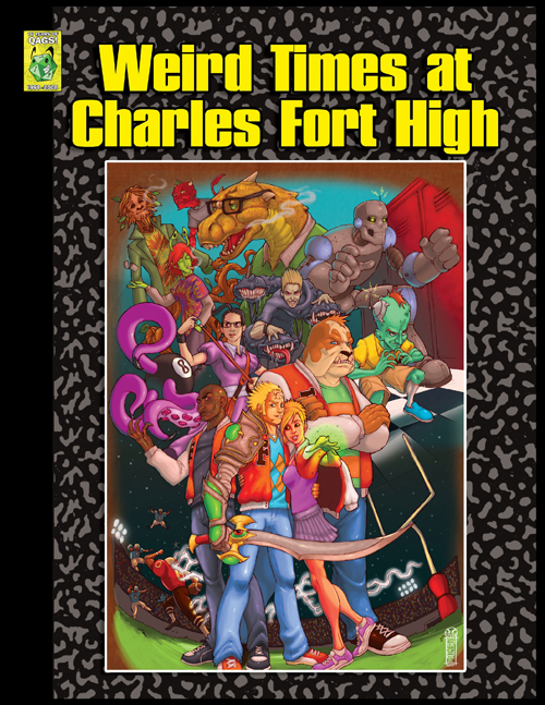 Weird Times at Charles Fort High Cover