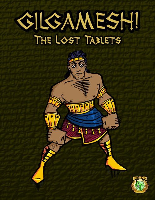 Gilgamesh!: The Lost Tablets Cover