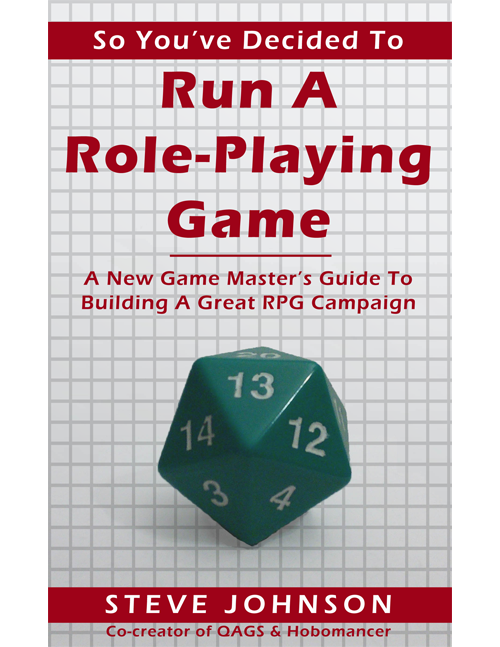 So You've Decided To Run A Role-Playing Game Cover