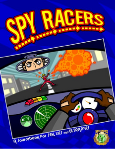 Spy Racers Cover