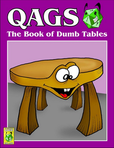 The Book of Dumb Tables Cover