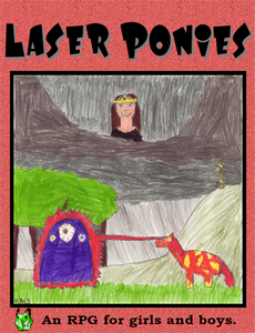 Laser Ponies Cover
