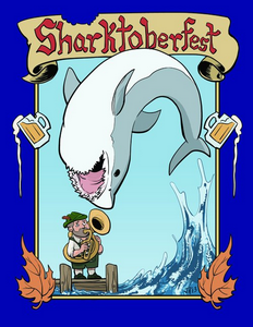 Sharktoberfest Cover
